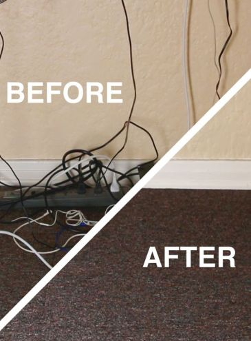 cable clutter before and after