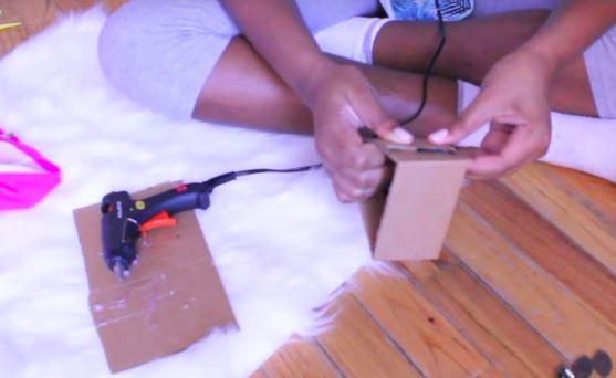 carboard arm piece