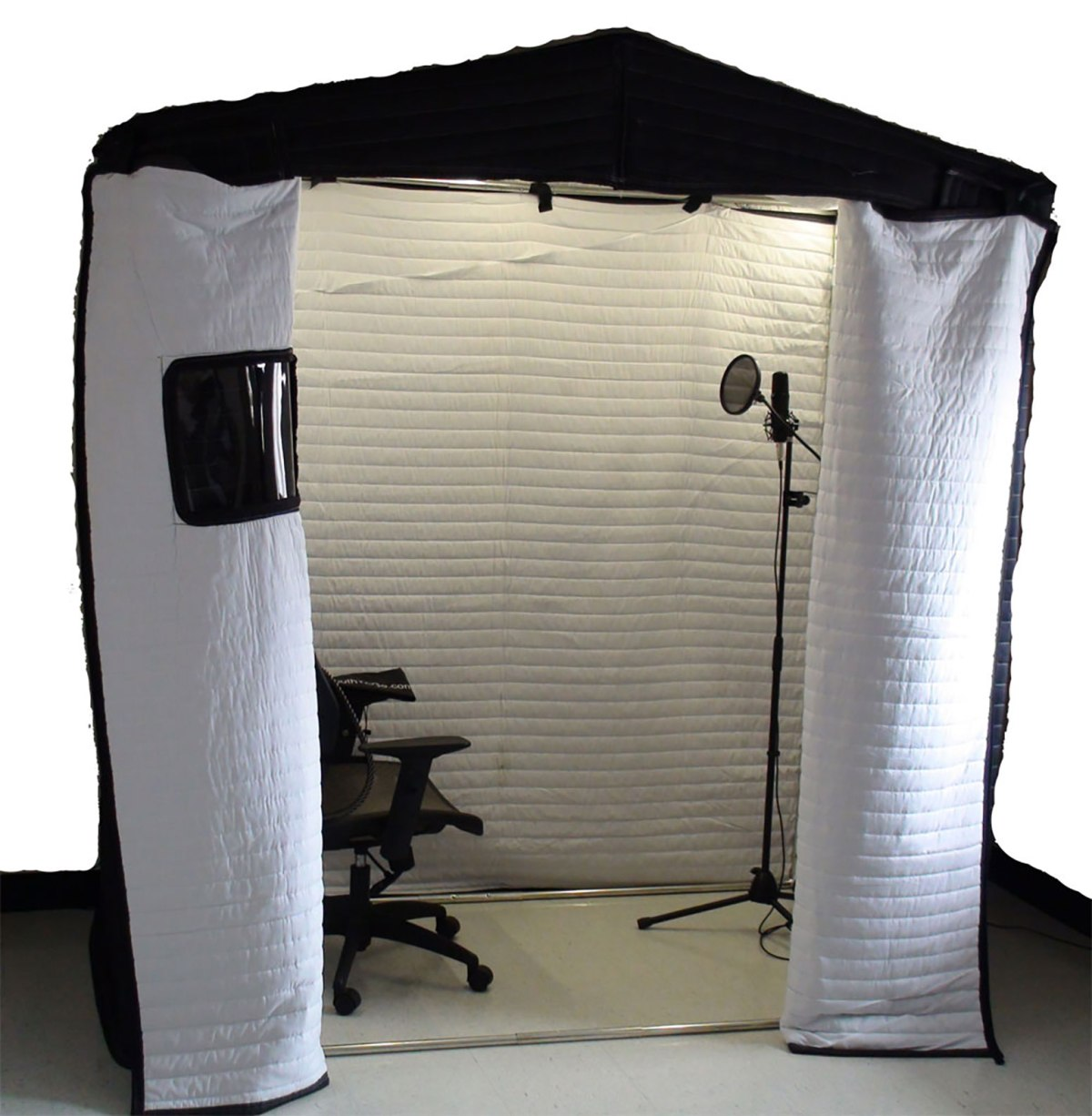 How to build a Mobile Acoustic Vocal booth on a budget