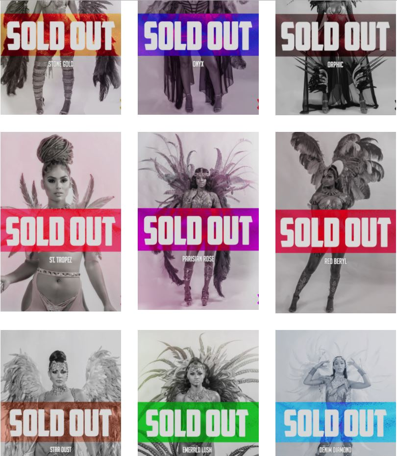 xamayva sold out